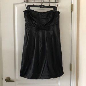 Ruby Rod Strapless Black Dress Size 16
